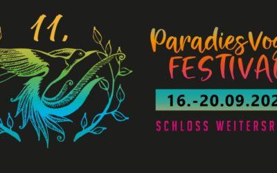 Paradiesvogelfest: 16. – 20. September 2021